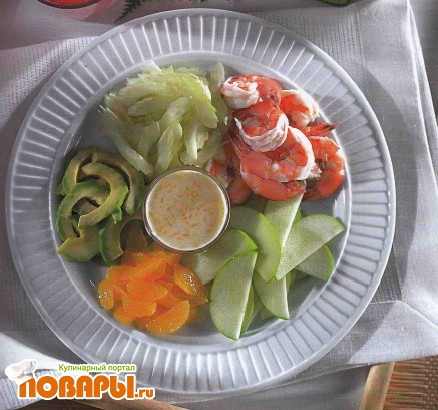 Рецепт Салат «Гавайский микс»