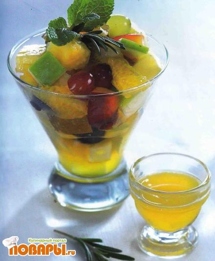 Рецепт Горячий фруктовый салат