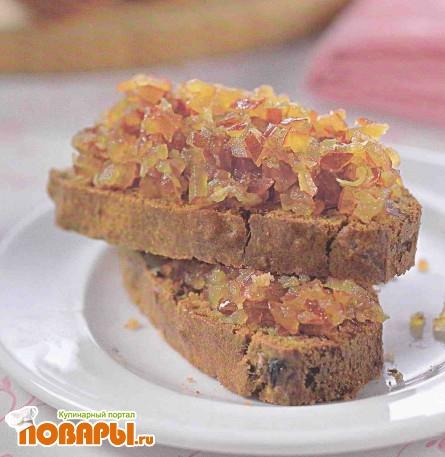 Рецепт Банановый хлеб с финиковым чатни