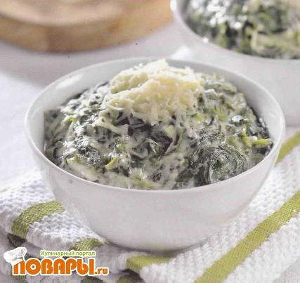 Рецепт «Каша» из шпината