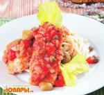 Треска в итальянском соусе