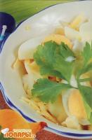 Яйца с сыром и майонезом