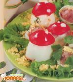 Фаршированные «грибочки»