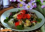 Русский салат из макарон