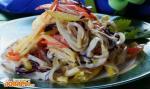 Салат с капустой и кальмарами по-белорусски