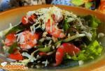 Корейский салат из морской капусты с рисом