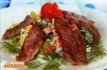 Венский салат со спаржей