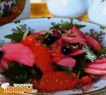 Миланский салат из яблок и апельсинов