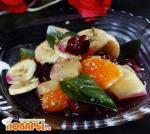Фруктовый салат с черешней по-крымски