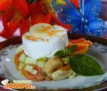 Восточный салат с абрикосами
