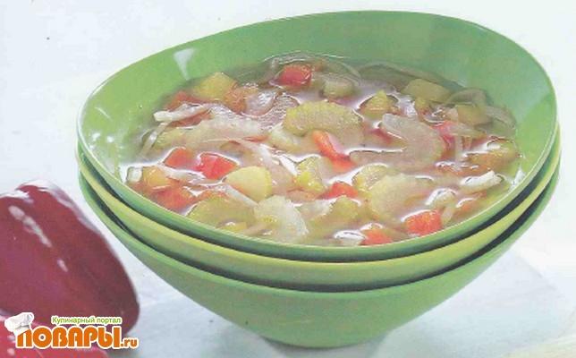 Рецепт Диета из сельдереевого супа