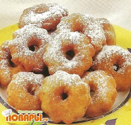 Рецепт Пончики лимонные