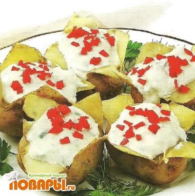 Рецепт Печеный молодой картофель