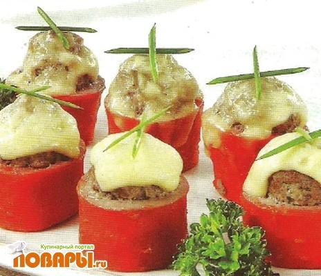Рецепт Морковь фаршированная