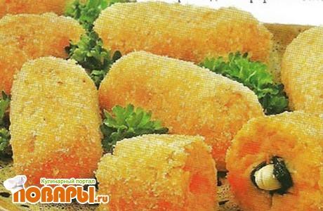 Рецепт Крокеты из моркови