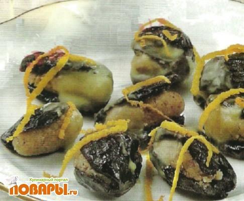 Рецепт Чернослив с орехами
