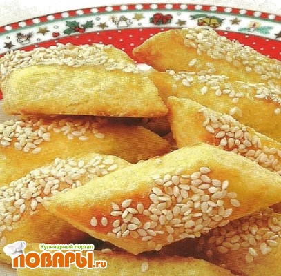 Рецепт Палочки с кунжутом