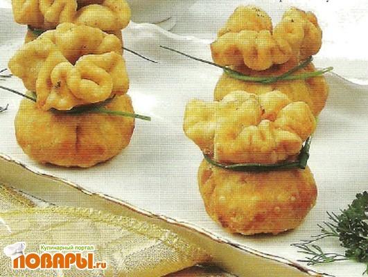 Рецепт Пирожки с яичной начинкой