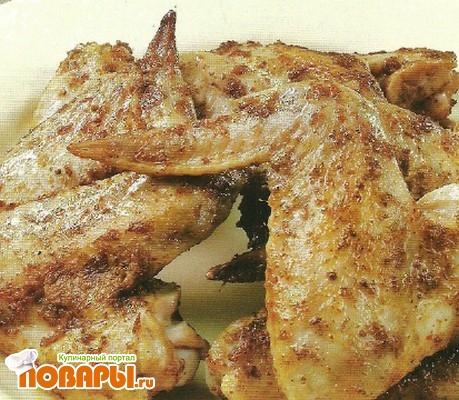 Рецепт Пикантные крылышки
