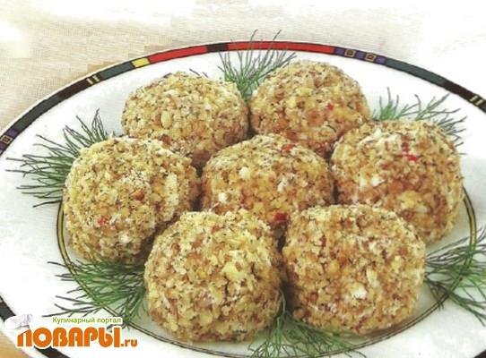 Рецепт Шарики из яиц