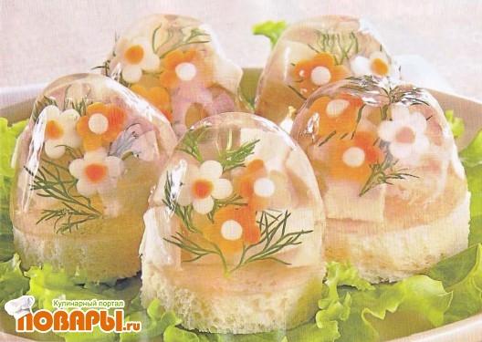 Рецепт Канапе из осетрины
