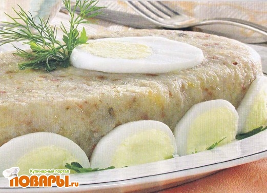 Рецепт Картофельный форшмак