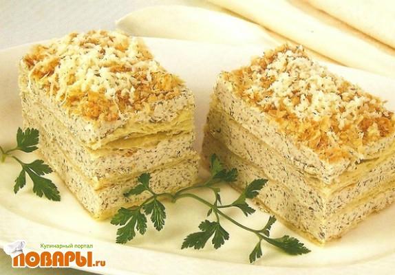 Рецепт Торт с грибным кремом