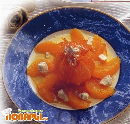 """Рецепт Апельсины """"в снегу"""""""