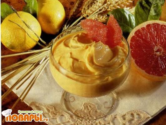 Рецепт Грейпфрутовый крем