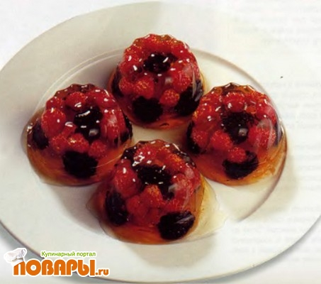 Рецепт Желе с лесными ягодами