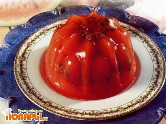 Рецепт Десерт из арбуза