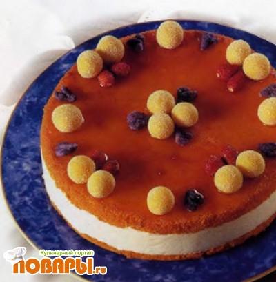 Рецепт Торт с йогуртом