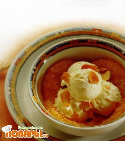 Рецепт Мороженое с ананасом
