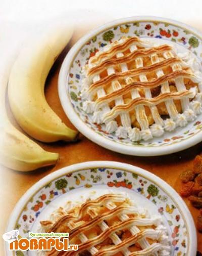 Рецепт Бананы под безе