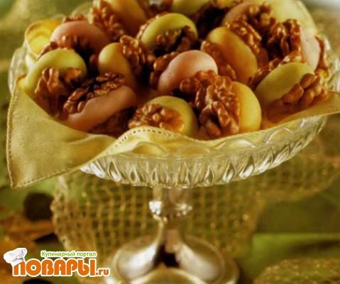 Рецепт Миндальное тесто или марципан