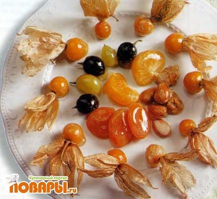 Рецепт Карамелированные фрукты