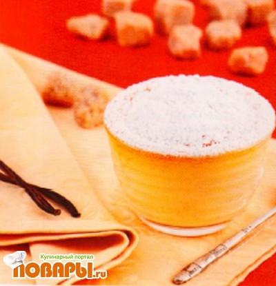 Рецепт Ванильно-медовое суфле