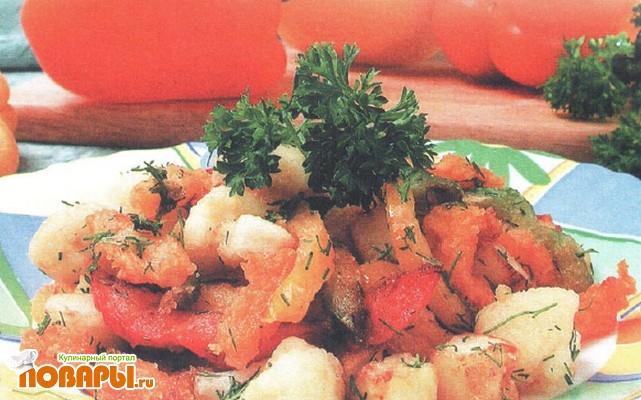 Рецепт Салат фруктово-овощной