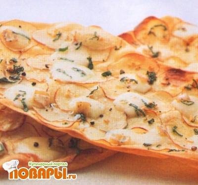 Рецепт Пицца с картофелем и таледжио