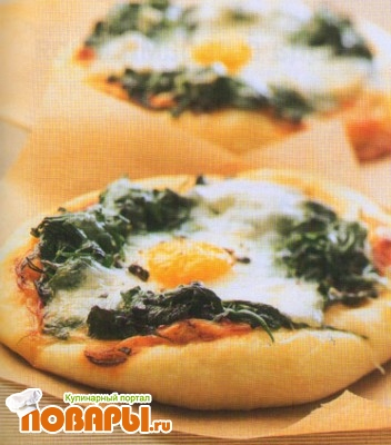 Рецепт Пицца «Флорентина»