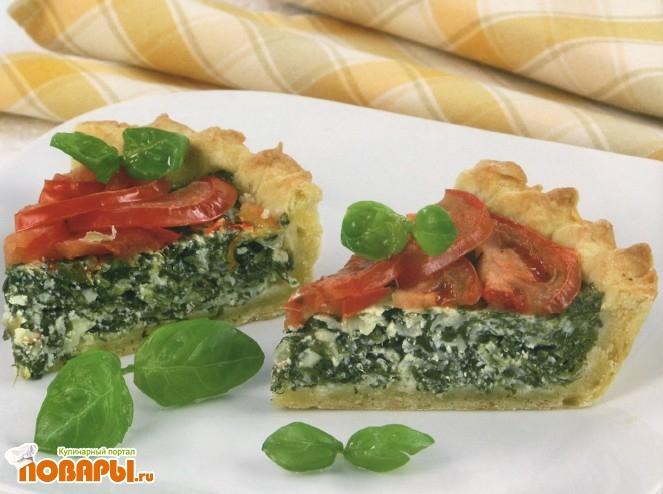 Рецепт Пирог с луком и картофелем