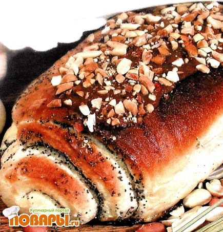Рецепт Булочки с маком и орехами