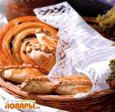 Рецепт Пирожки с вареньем (повидлом)