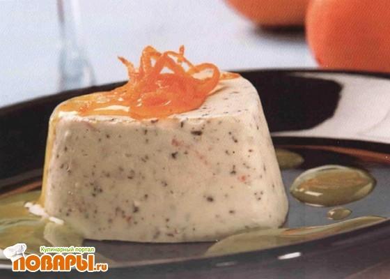 Рецепт Шоколадно-апельсиновое мороженое
