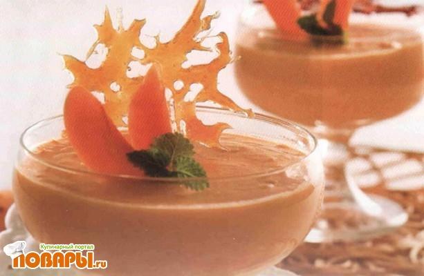 Рецепт Десерт с карамелью