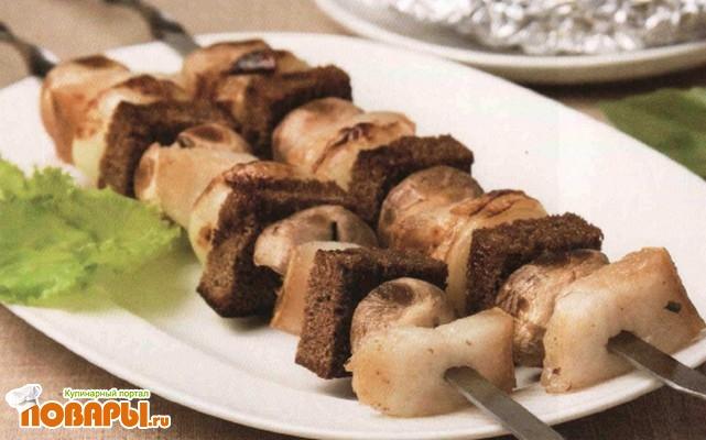 Рецепт Шашлык из грибов