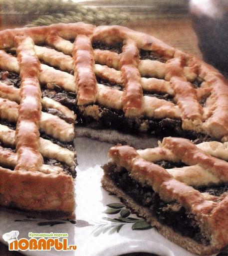 Рецепт Пирог с повидлом