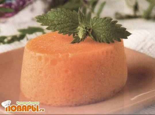 Рецепт Мусс морковный