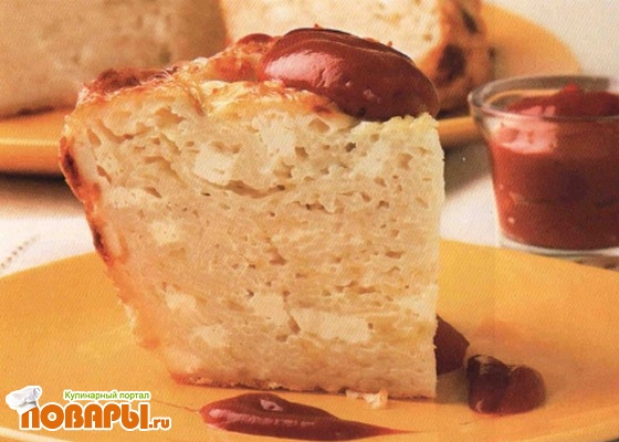 Рецепт Запеканка из вермишели с сыром