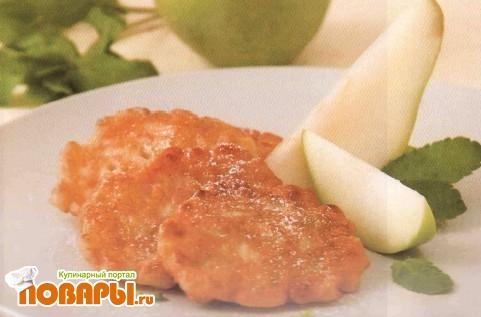 Рецепт Оладьи фруктовые